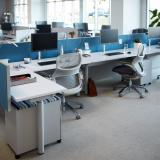 antenna telescope single sided height adjustable desk generation by knoll sapper single monitor arm