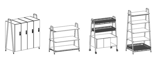 Rockwell Unscripted Modular Storage Knoll