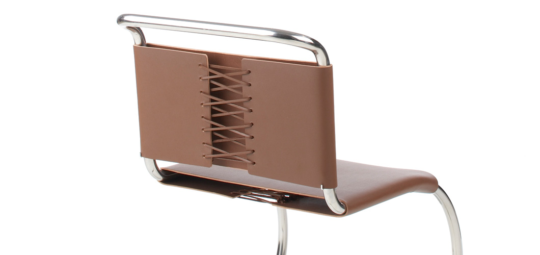 Knoll Mlies MR Chair by Ludwig Mlies van der Rohe