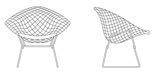 Bertoia Child S Diamond Chair Knoll