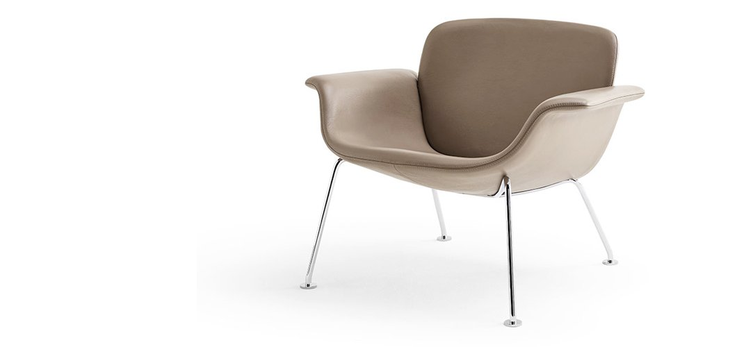 KN04 Lounge Chair by Piero Lissoni for Knoll