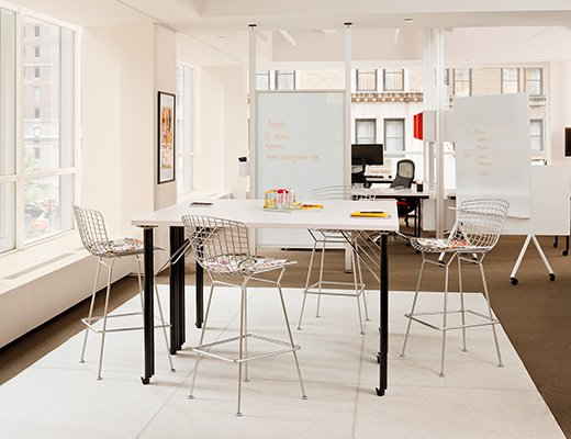 Knoll Open Plan Activity Spaces Community