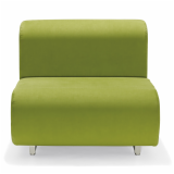 Suzanne Tick green Suzanne Double Lounge chair