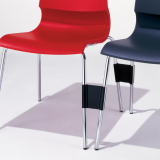 Gigi Chairs with ganging mechanism