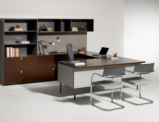 Antenna Workspaces U-Shaped Private Office