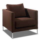 Knoll brown small Divina Chair