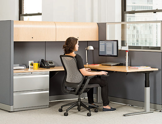 universal height-adjustable tables | knoll