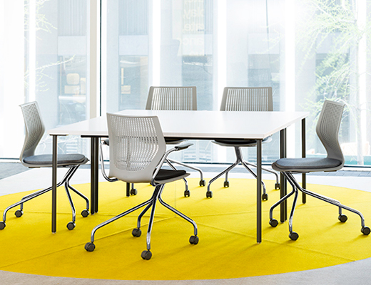 Knoll Small Simple Table Meeting Table