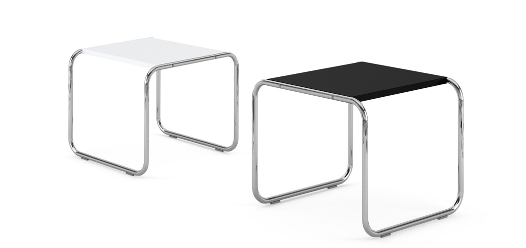 Knoll Breuer Laccio Side Table by Marcel Breuer
