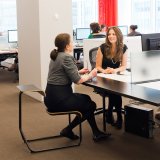 Knoll New York Open Plan Workstation