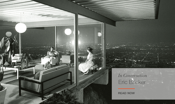 In Conversation Eric Bricker