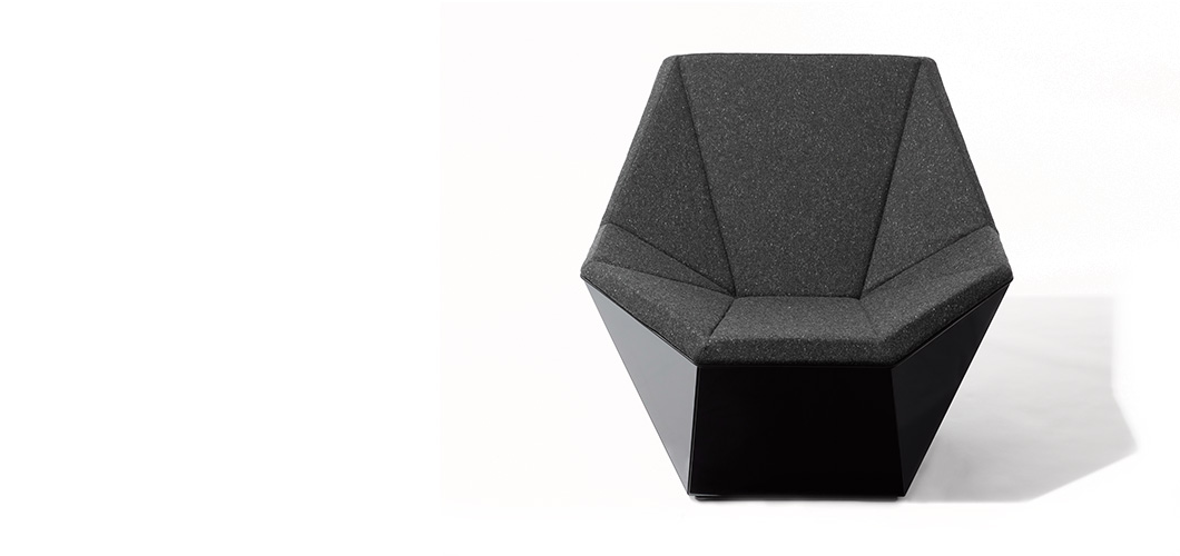 washington prism u2122 lounge chair and ottoman by david adjaye