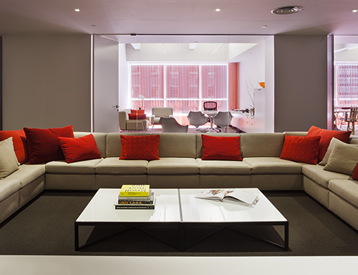 Knoll New York Showroom Community Space