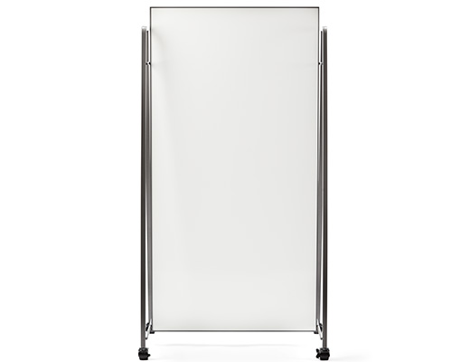 Rockwell Unscripted conversation board markerboard analog communication mobile storage assembly casters
