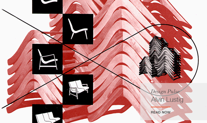 The graphic design of Alvin Lustig for Knoll