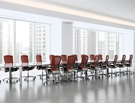 LSM Conference Table Series With LLeg Knoll - Conference room table legs