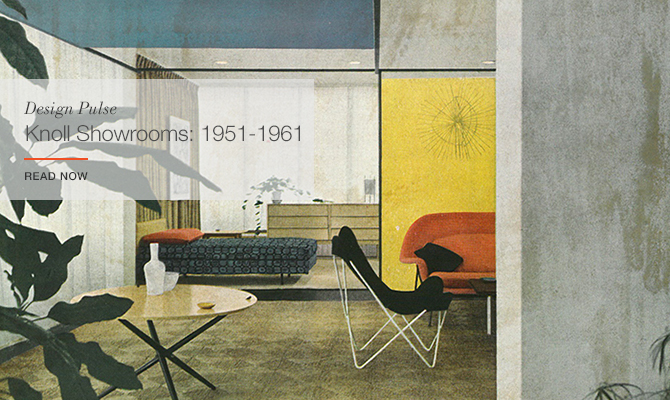 Florence Knoll-designed showrooms: 1951-1961