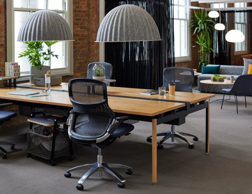 generation by knoll formway design antenna workspaces big table rockwell unscripted storage cart muuto under the bell pendant lamp san francisco showroom knoll essentials welcoming community