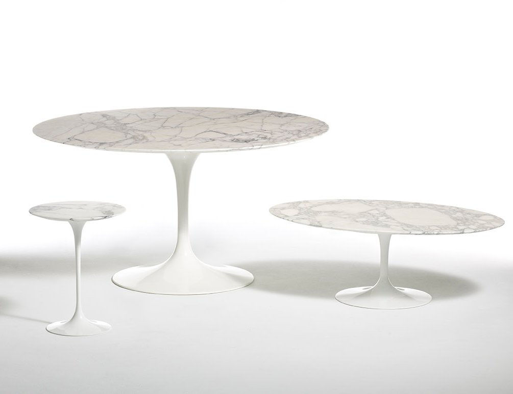 Eero Saarinen Pedestal Collection Tables Dining Table Side Table Oval Dining Table
