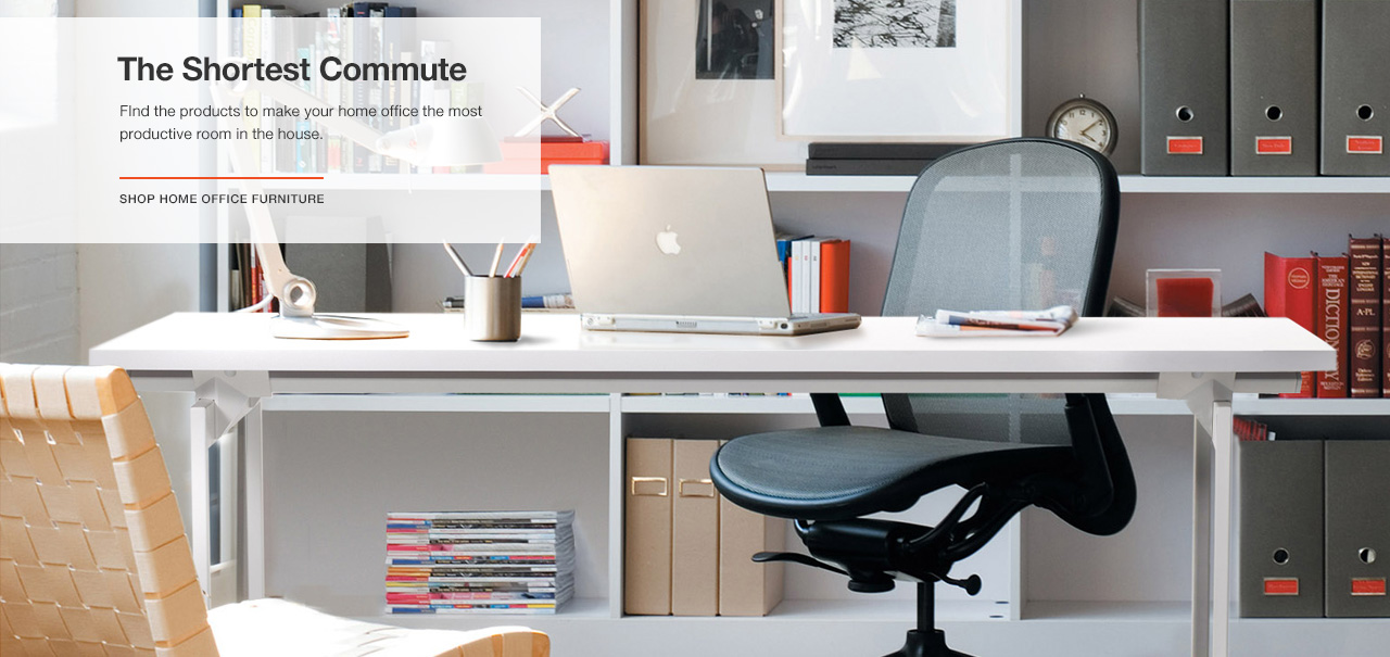 The Shortest Commute: Shop Home Office Furniture