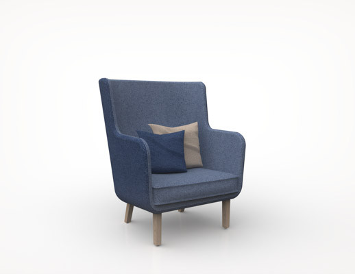... Rockwell Unscripted Highback Chair ...