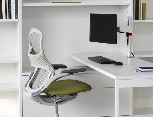 Template Storage System, featuring Generation by Knoll and the Sapper Monitor Arm