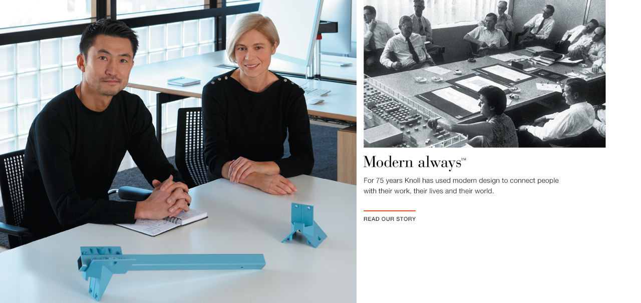 Modern always. The Knoll Story