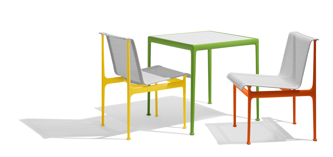 Schultz 1966 Dining Table and Chairs in New Colors