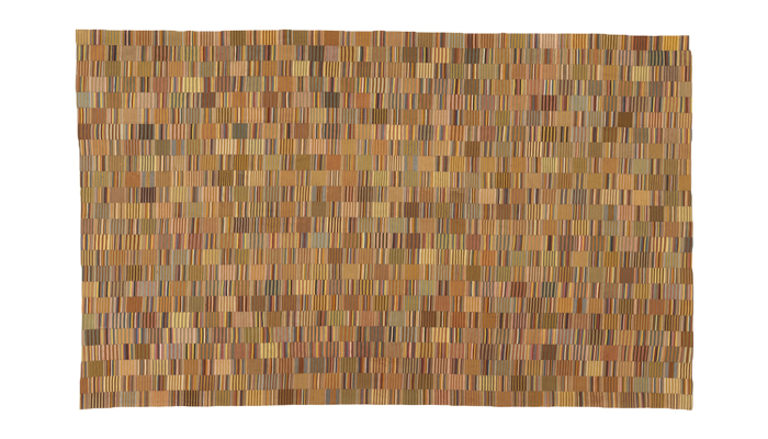 Kente Prestige Cloth from the Asante peoples, Ghana, early to mid-20th century from David Adjaye Selects.