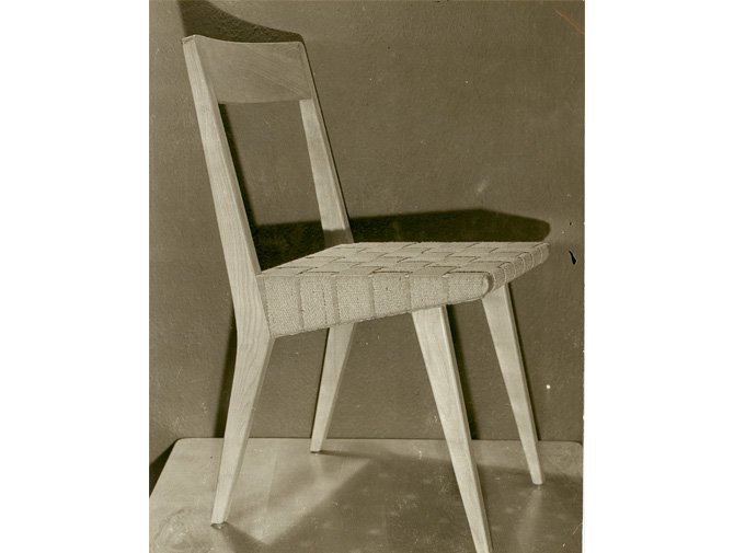 Knoll Jens Risom Side Chair history