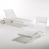 Richard Schultz 1966 Collection Patio Outdoor Furniture Contour Chaise Adjustable Chaise