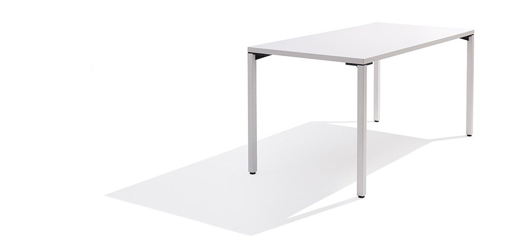 Pixel 4 Leg Tables by Knoll