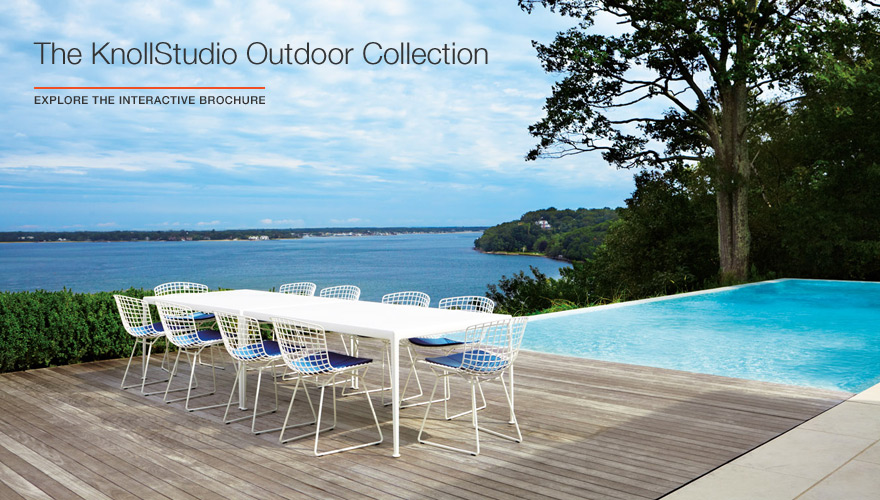 KnollStudio Outdoor Collection Brochure