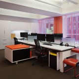 Knoll New York open Plan Workstations