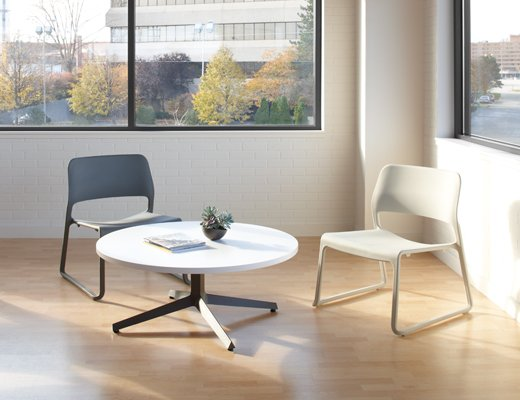 ... Knoll · Dividends Horizon Low Meeting Table With Spark Lounge Chairs ...