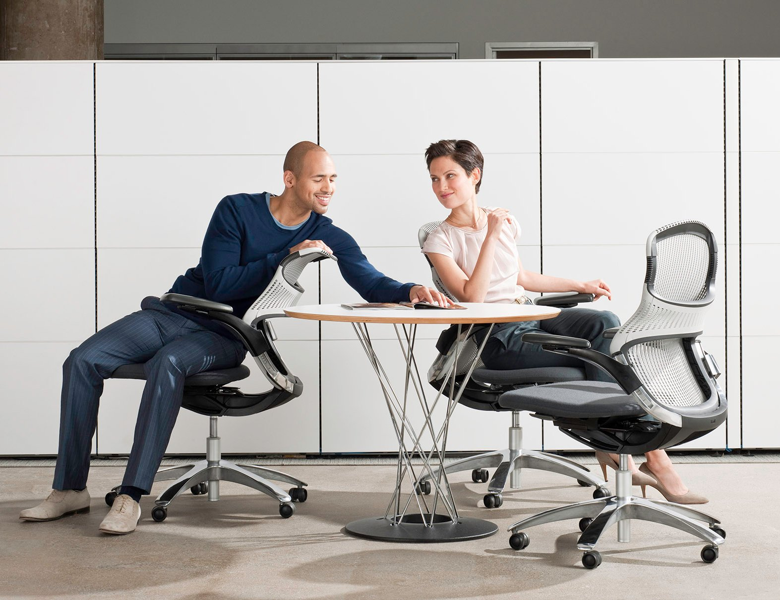 Activity Space Isamu Noguchi Cyclone Table Generation Chairs Getaway Space Small Meetings