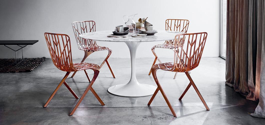 Saarinen Dining Table Round Knoll