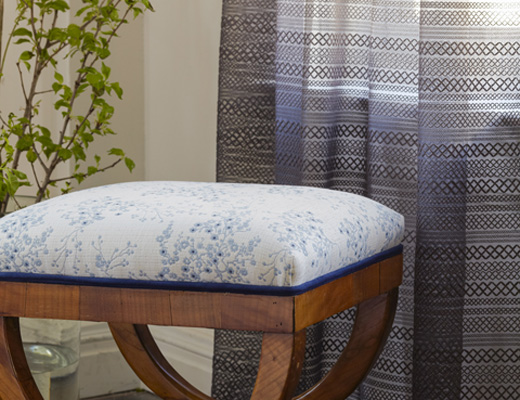 Olema Upholstery and Besos drapery by SUNO for Knoll Luxe