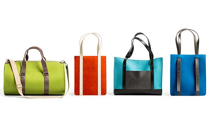 Knoll Totes and Travel Collection