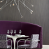 Oh La La Banquette Arrondissement on BRNO Chairs Grand Boulevard Wallcovering