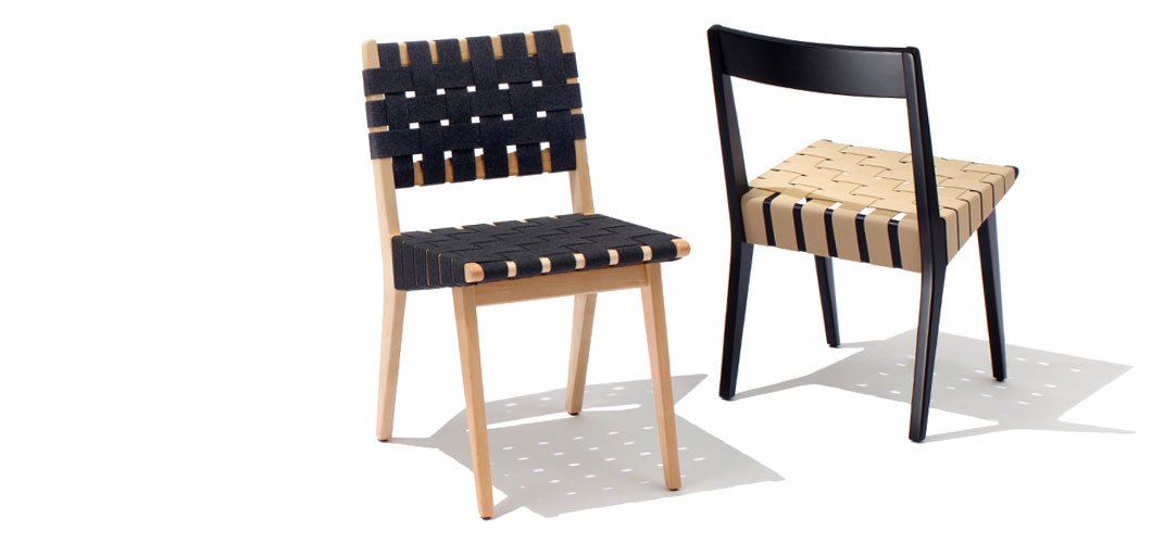 Knoll Risom Side Chair by Jens Risom