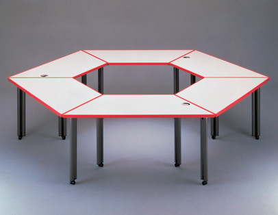 Knoll for Trapezoid table