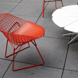 Bertoia Diamond Chair Richard Schultz Petal Coffee Table outdoor community shared spaces