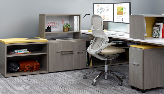 The Credenzas Can Also Be Used In The Private Office Or To Define Space,  Store Files Items And Provide Seating In Activity Spaces. A Range Of  Configurations ...