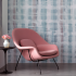 The Fields Collection  Rachel & Nicholas Cope | Traverse Wallcovering  Buzz Upholstery on Womb Chair