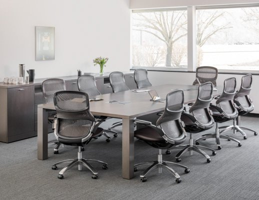 Reff Profiles MeetingTables Knoll - 84 inch conference table