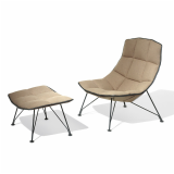 The Jehs+Laub Lounge Collection offers a sleek profile that is both refined and approachable.