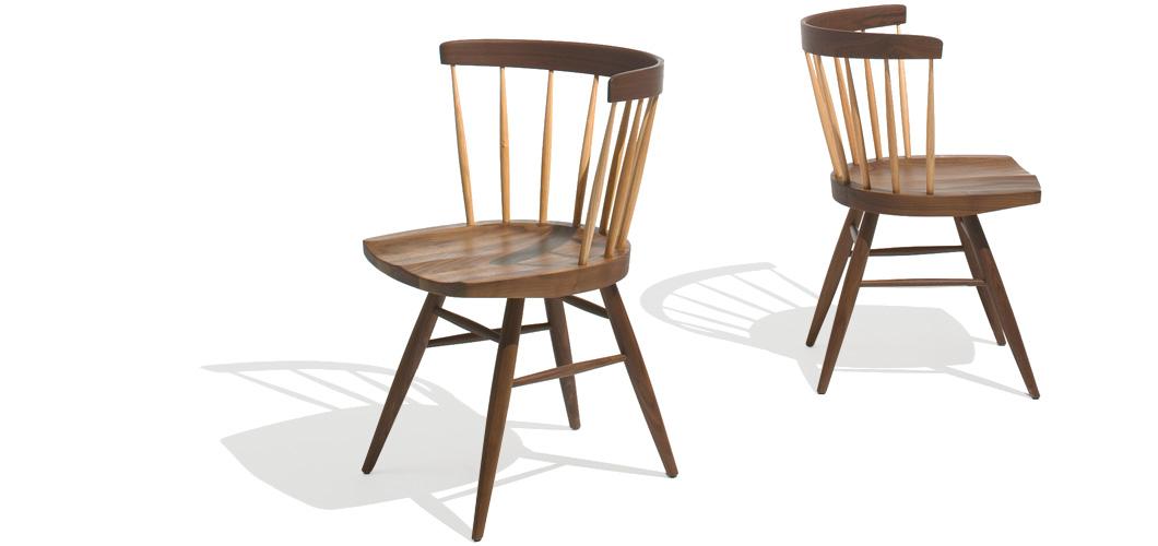 Knoll Nakashima Straight Chair By George Nakashima