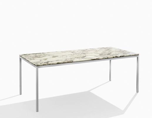 Table florence knoll bois - Florence knoll rectangular coffee table ...