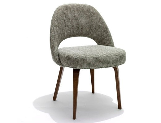 saarinen executive armless chair knoll
